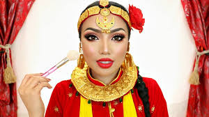 promise tamang phan s first ever nepali makeup tutorial video inspired by model in kafal gedi kutukai