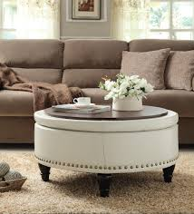 ottoman tables living room fresh ottoman vs coffee table which is right for your home
