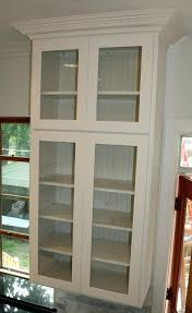oak wall display cabinets with glass doors explore st specialty use kitchen cabinet design specialties door