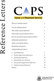 Sample College Reference Letters Download Sample College References Letter For Free Page 6