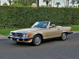 The paint, soft mushroom leather interior, and legendary drive train is in as close to new condition as. 1987 Mercedes Benz 560sl Gold