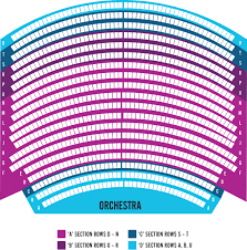 Seating Chart Hamilton Seating Map Hamilton Philharmonic Orchestra