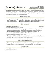 Military Resume Template Gfyork Inside Military Style Resume