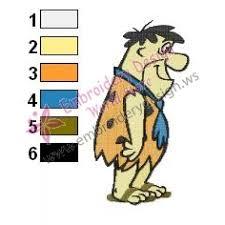 Flintstones Embroidery Designs Flintstones Embroidery Cartoon 21
