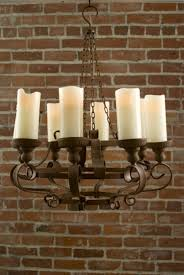 faux pillar candle chandelier outdoor chandeliers for gazebos with candles diy votive rustic battery powered led no power ideas restoration hardware antique