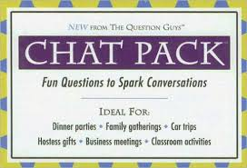Chat Pack Fun Questions to Spark Conversation by Bret Nicholaus