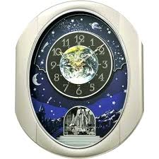al motion clocks rhythm al wall clocks rhythm peaceful cosmos ii al clock the clock depot