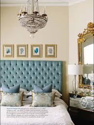 Blue Headboard Design Ideas Love A Robins Egg Blue Velvet Headboard Gold Bedroom