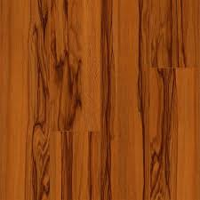 Find Great Deals On Timeless Elegance High Gloss Siberian Tigerwood Laminate  Floor With Attached Pad
