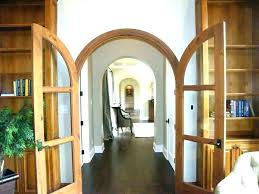 arched interior french doors doorway door arch designs27