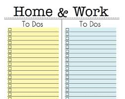 printable task lists eisenhower prioritising task to do list printable planner