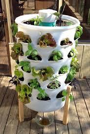 diy barrel planter vertical vegetable garden ideas 13