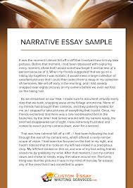 narrative essay writing  narrative essay writing worthy examples to follow