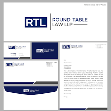 logo design by logo creative for round table law llp design 14658881