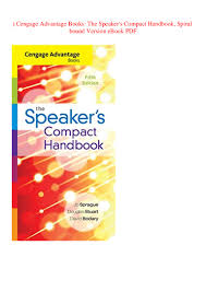 Speaker Design Book Pdf Read Cengage Advantage Books The Speakers Compact Handbook
