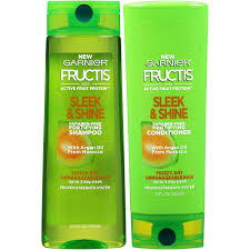 Garnier Fructis Sleek Shine Zero Smoothing Light Spray Garnier Fructis Sleek Shine Shampoo Conditioner 2 Pack Frizzy Dry Unmanageable Hair 1 Kit