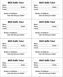 Download Raffle Ticket Template Free Sample Tickets To Make
