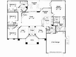 1 story house floor plan beautiful house plan single y 4 bedroom homes zone
