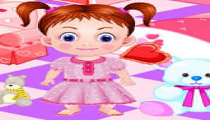 baby emma room decoration play dora girl games