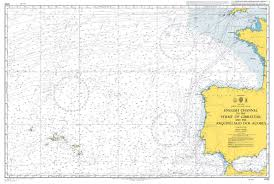 Admiralty Chart 4103 English Channel To The Strait Of Gibraltar And The Arquipelago Dos Acores