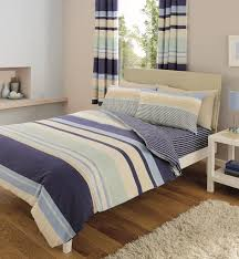 8 piece double duvet cover set including curtains c s blue from deluxe home co uk kitchen home