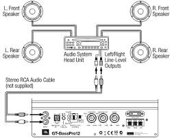 primary car sub wiring diagram subwoofer diagrams in for subs or powered subwoofer wiring diagram in jbl gt basspro12 car circuit on tricksabout net pictures