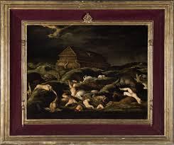 noah 039 s ark and the flood 16th century flemish school