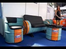 drum furniture. 32 Recycled Oil Drum - Unique Furniture Part 1