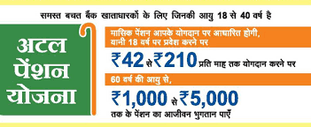 Atal Pension Yojana Age Chart Everything About Pradhan Mantri Atal Pension Yojana Pmapy
