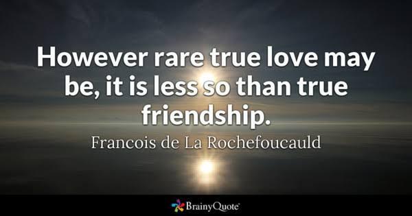 true lines about friendship