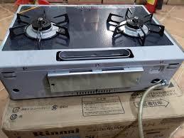 Bếp gas Rinnai japan S660MGTS(SL)-L 2 lò nấu và 1 lò nướng chính hãng tại  ALOBUY Việt Nam