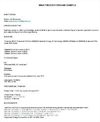 Mba Cover Letters Pursuing Resume Format Lovely Resume Format Cover ...