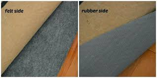 thick rug pad rug pads for hardwood floors best area