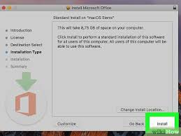 how to install microsoft office on mac how to download microsoft office for mac wikihow