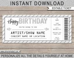 tickets template free printable tickets template wilkesworks