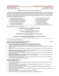 Information Technology Specialist Resume Lcysne Com