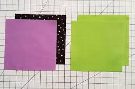 3 Patch Quarter Square Triangle Tutorial Use Formula Or Chart