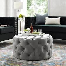 casters ottomans living room