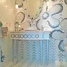 Pre Made Mosaic Designs This Bathroom Has A Custom Mosaic Wall And Floor Design