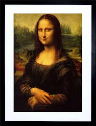 image is loading da vinci mona lisa painting art frame print