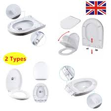 Soft Close Toilet Seat White Wc Toilet Seats Brand New Uk Types Of Toilet Seat Fittings