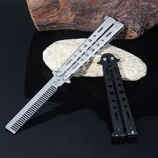 Foldable Comb <b>Stainless Steel Practice</b> Training Fashion Play ...
