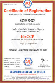 Quality Assurance Kissan Foods