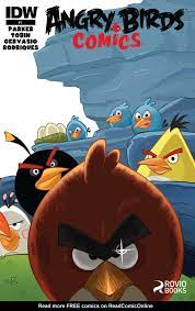 Read online Angry Birds Comics (2014) comic - Issue #1