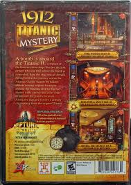 This is an exciting searching game for young 'detectives' who are willing to explore the underwater wreckage of the titanic. 1912 Titanic Mystery Pc Game Solve A 100 Year Old Mystery In This Hidden Object Game Also Includes Bonus Game Neptunia Walmart Com Walmart Com