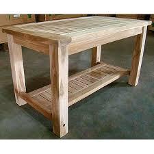 teak end tables outdoors teak patio coffee table with lower shelf teak outdoor tables uk