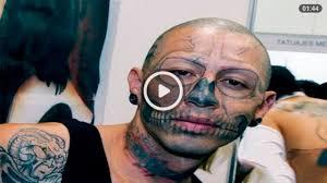 просто сногсшибательная подборка шокирующих татуировок на лицев