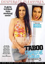 Taboo Casting Calls 3 DVD Desperate Pleasures