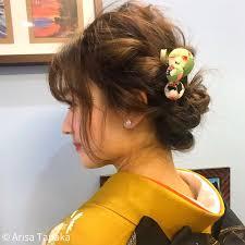 日本人だったら知っておきたい大和撫子を作るかんざしの髪型 Arine