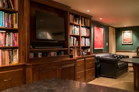 home office cabinetry design. Custom Bookshelves For Home Office Media Cabinet  Cabinetry Design